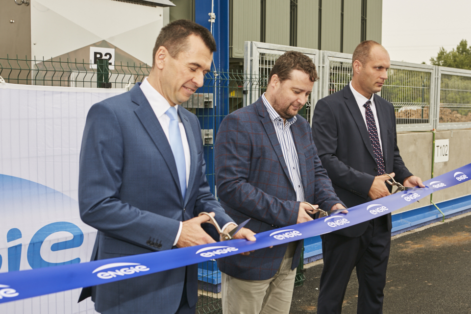 Inauguration of a new ENGIE transformation station 110/22 kV in Velka Ida, Slovakia